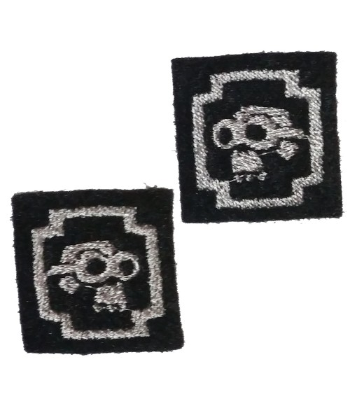 Doom Goggle - Embroidered Pips Pair